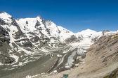 Gleccser az Alpokban