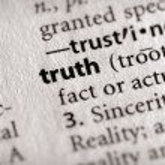 Постер, плакат: Dictionary Series Philosophy: truth