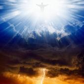 Christus, Himmel und Hölle