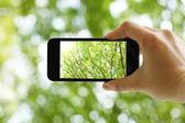 Fotografování s chytrý telefon