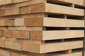 Fából készült gerendák