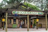 Zoo atlanta bejárata