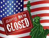Kormány Shutdown Szabadság-szobor