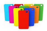 Barevné plastové mobilní telefon případy