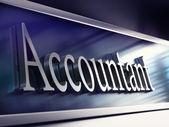 účetní firma deska, 3d vykreslování