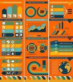 Satz von Infographik Design-Vorlagen