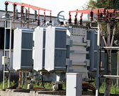 Current transformer out of a hydro-electric power generation
