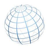 Vektor földgömb ikon