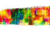 Obraz abstraktní guasch