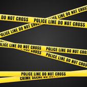 Kriminální scénu žlutá čára