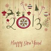 Pozadí šťastný nový rok 2013