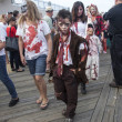Постер, плакат: Asbury Park Zombie Walk 2013 Little Zombie Boy