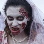 Постер, плакат: Asbury Park Zombie Walk 2013 Bride Zombie