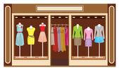 Boutique. Womens clothing shop