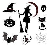 Halloween ikonok és emblémák