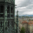 Постер, плакат: View of Geneva Switzerland from Cathedral Saint Pierre