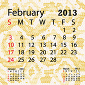 Closeup illustration of a patterned albino snake skin background for february 2013 calendar