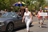 Grand marshall brent hawkes v Torontu worldpride parade