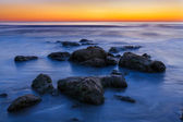 Beach Rocks Sunrise