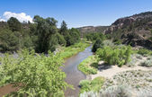 Blátivé potok protéká kaňonem