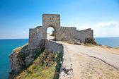 Vstup pevnost kaliakra v Bulharsku