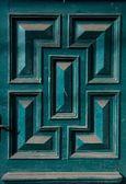 Zdobené dřevěné dveře