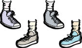 Various Athletic Shoes