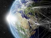 Network over EMEA region