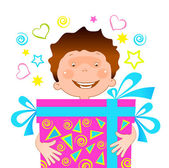 Boy with a gift