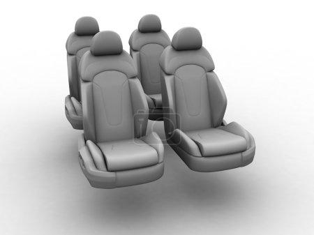 Four car seats