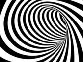 černobílý abstraktní vektorová tunel