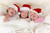 Vánoční zábava v posteli