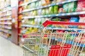 Supermarket vozíku