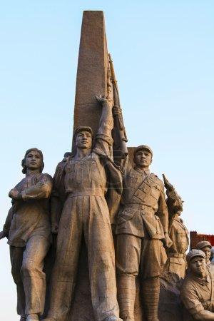 Постер, плакат: Monuments of communism, холст на подрамнике