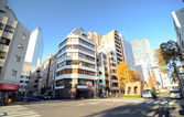 Tokio - nov 26: ulice ginza oblasti
