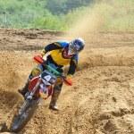 Постер, плакат: Russian championship trophy raid among ATVs and motorcycles