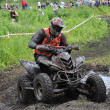 Постер, плакат: Russian championship trophy raid among ATVs and motorcycles