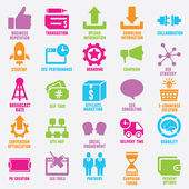 Set of seo and internet service icons - part 9
