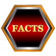 Постер, плакат: Facts logo