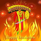 Ravana pálení v dussehre