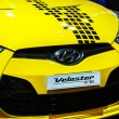Постер, плакат: BANGKOK December 1: Hyundai Veloster on display at The 30th Th
