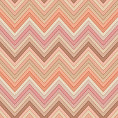 Seamless pink and orange colors horizontal fashion chevron pattern