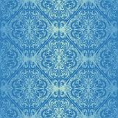 Bezešvé blue tapeta - retro styl
