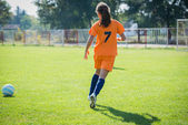 Dívka fotbal