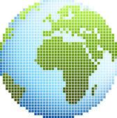 Pixel zeměkoule
