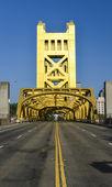 Tower bridge, sacramento, Kalifornie