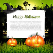 Halloween background with place for tex