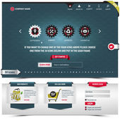 Internationale Business-template