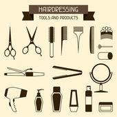 Kadeřnické nástroje a produkty