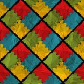 Nahtlose Puzzle-Hintergrund